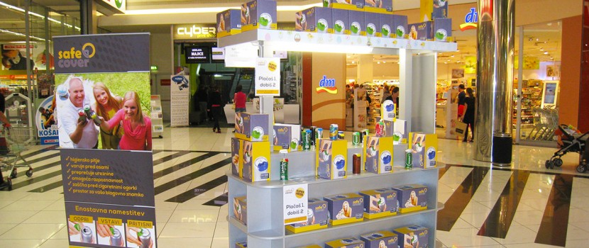 City Park shopping mall promotion